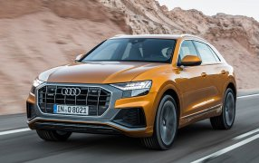 Alfombrillas Audi Q8.