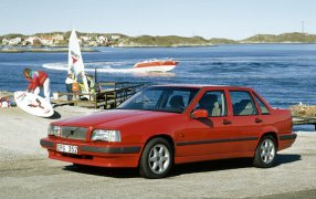 Alfombrillas Volvo 850.
