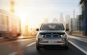 Alfombrillas BMW i3.