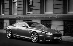 Alfombrillas Aston Martin  DB9.