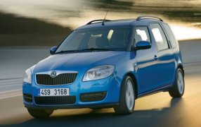 Alfombrillas Skoda Roomster.