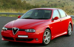 Alfombrillas Alfa Romeo 156 GTA.